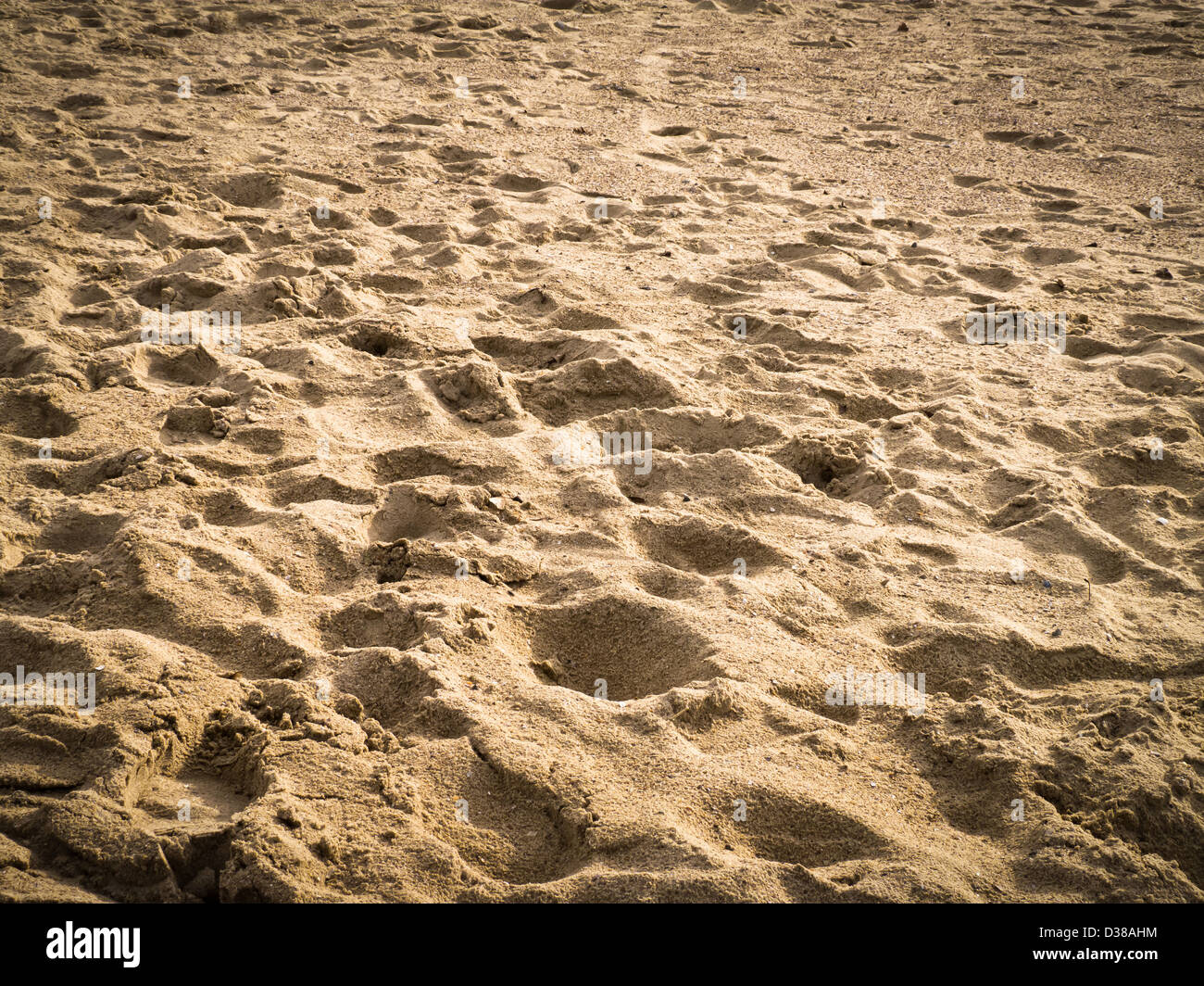 Beach Prints Foot Prints Footsteps Sand Beach Stock Photos And Foot