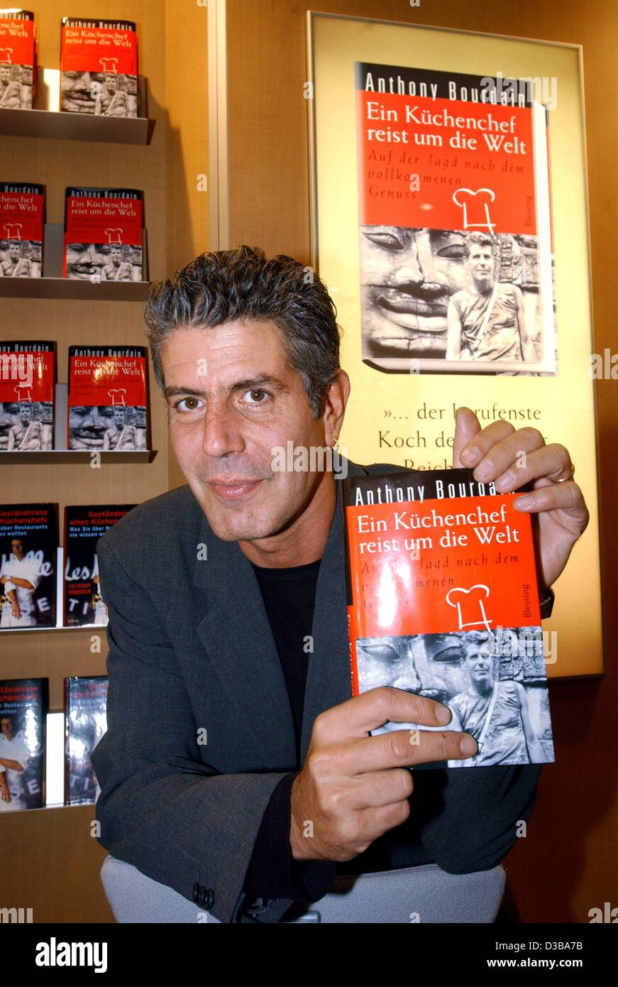 Küchenchefs Tv Now Anthony Bourdain Kitchen Confidential Stock Photos Anthony