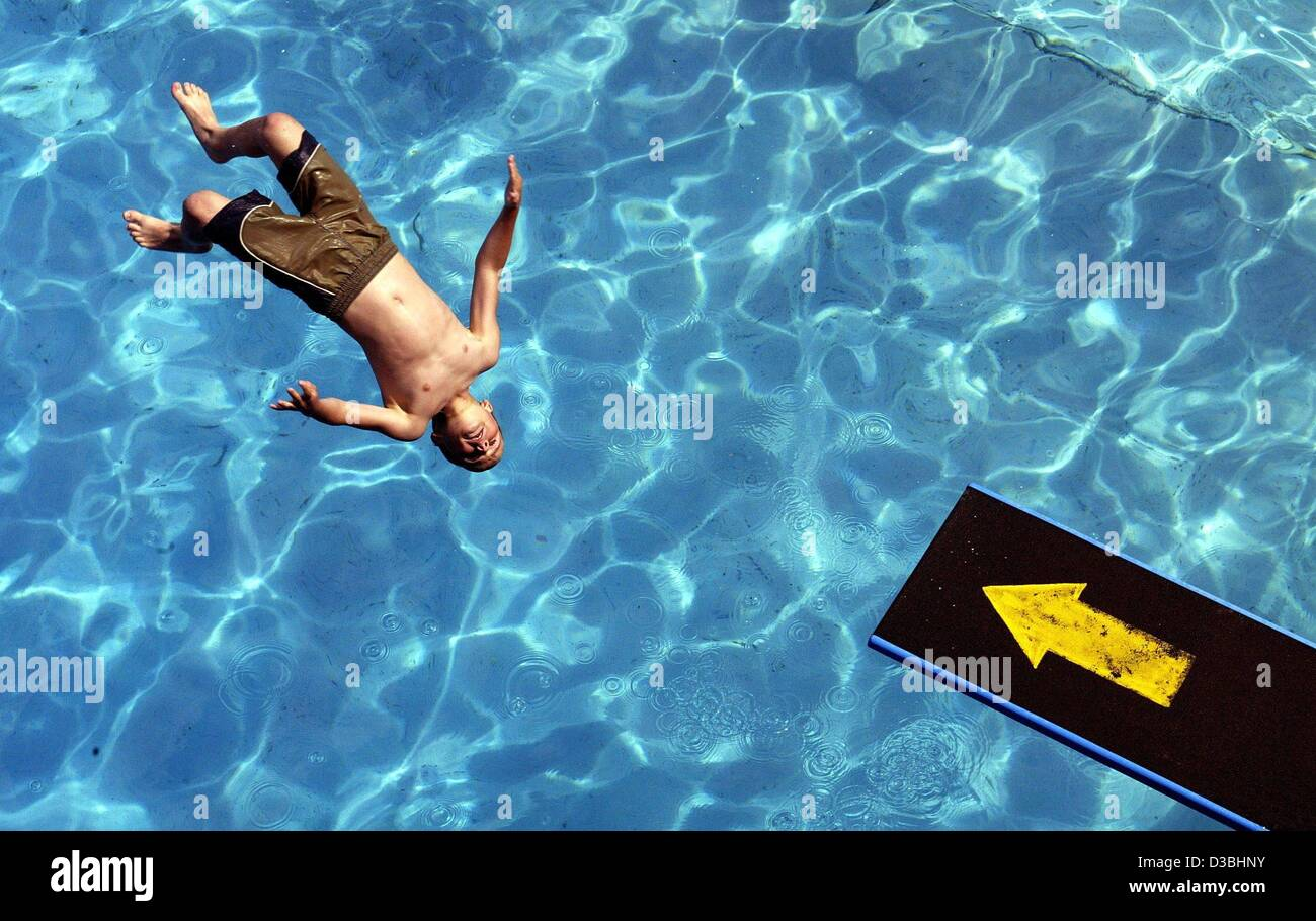 Floating Kaiserslautern Jumping Off Diving Board Stock Photos And Jumping Off Diving