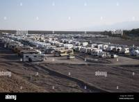 RVs by the 100s, Death Valley 49ers Encampment, Furnace ...
