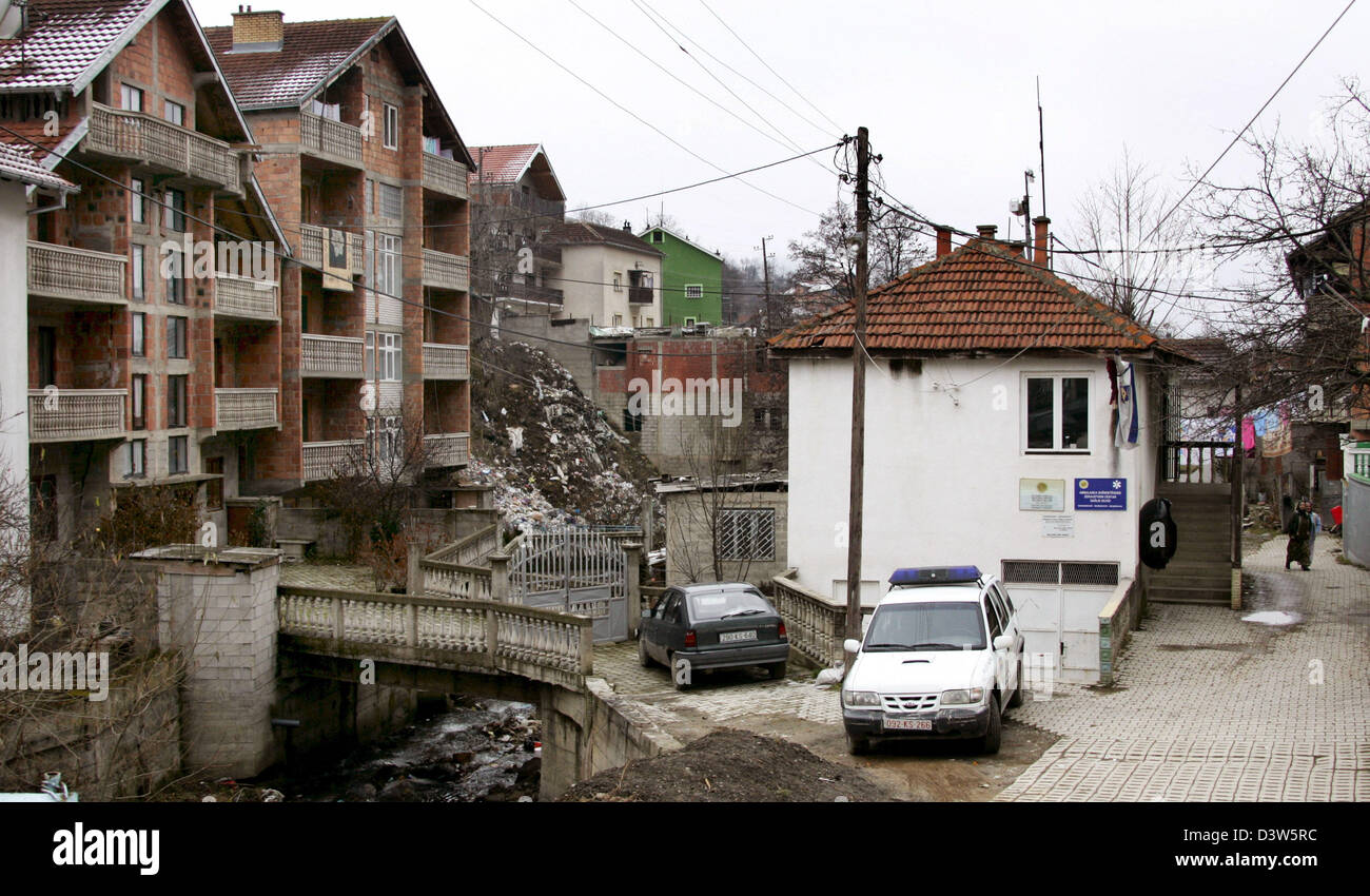 The Picture Shows Houses In The Small Village Mushnikovo Kosovo 13 Stock Photo Alamy