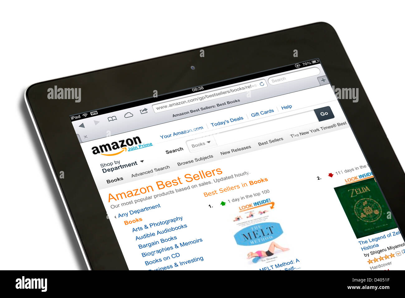 Amazon Audible On Ipad Shopping For Books On The Amazon Usa Website On A 4th