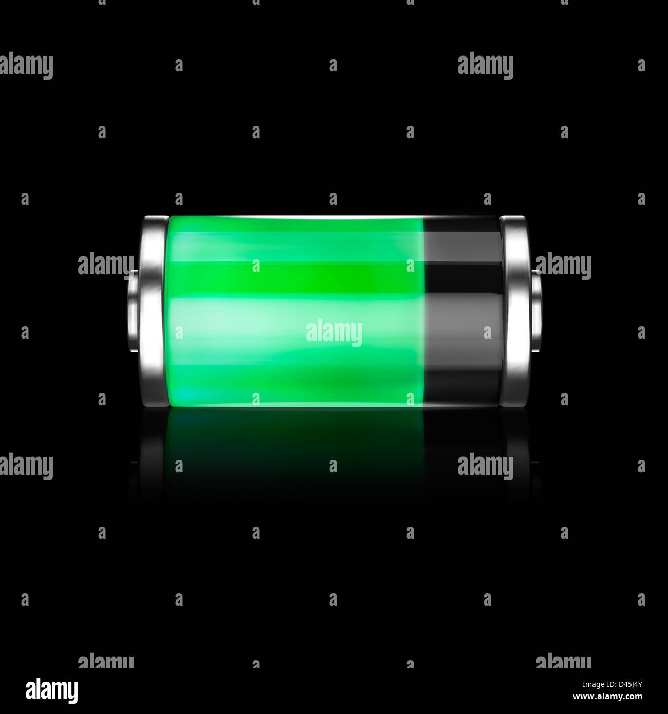 Battery Symbol Iphone Cell Phone Battery Charge Symbol Fuel Cell Conceptual 3d