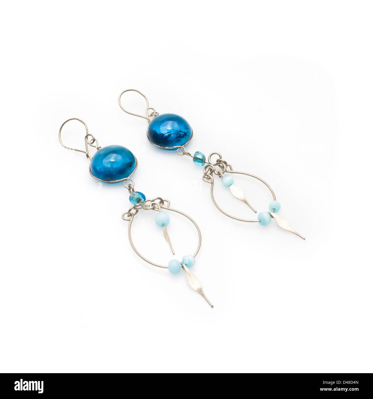 Beaded Earrings Stock Photos & Beaded Earrings Stock