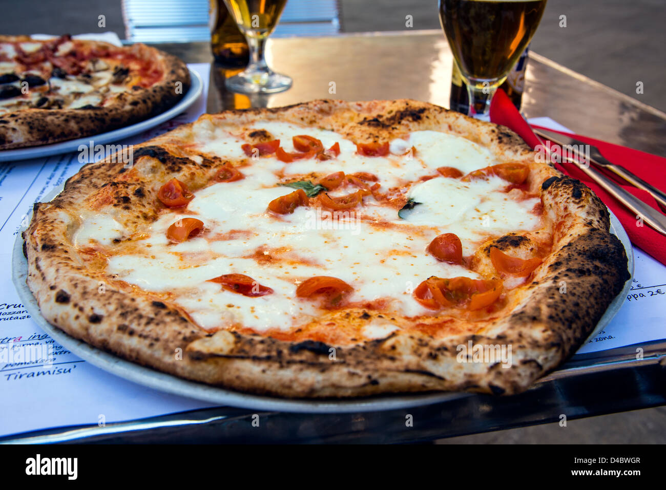 Arte Pizza Roma Pizzeria Stock Photos Pizzeria Stock Images Alamy