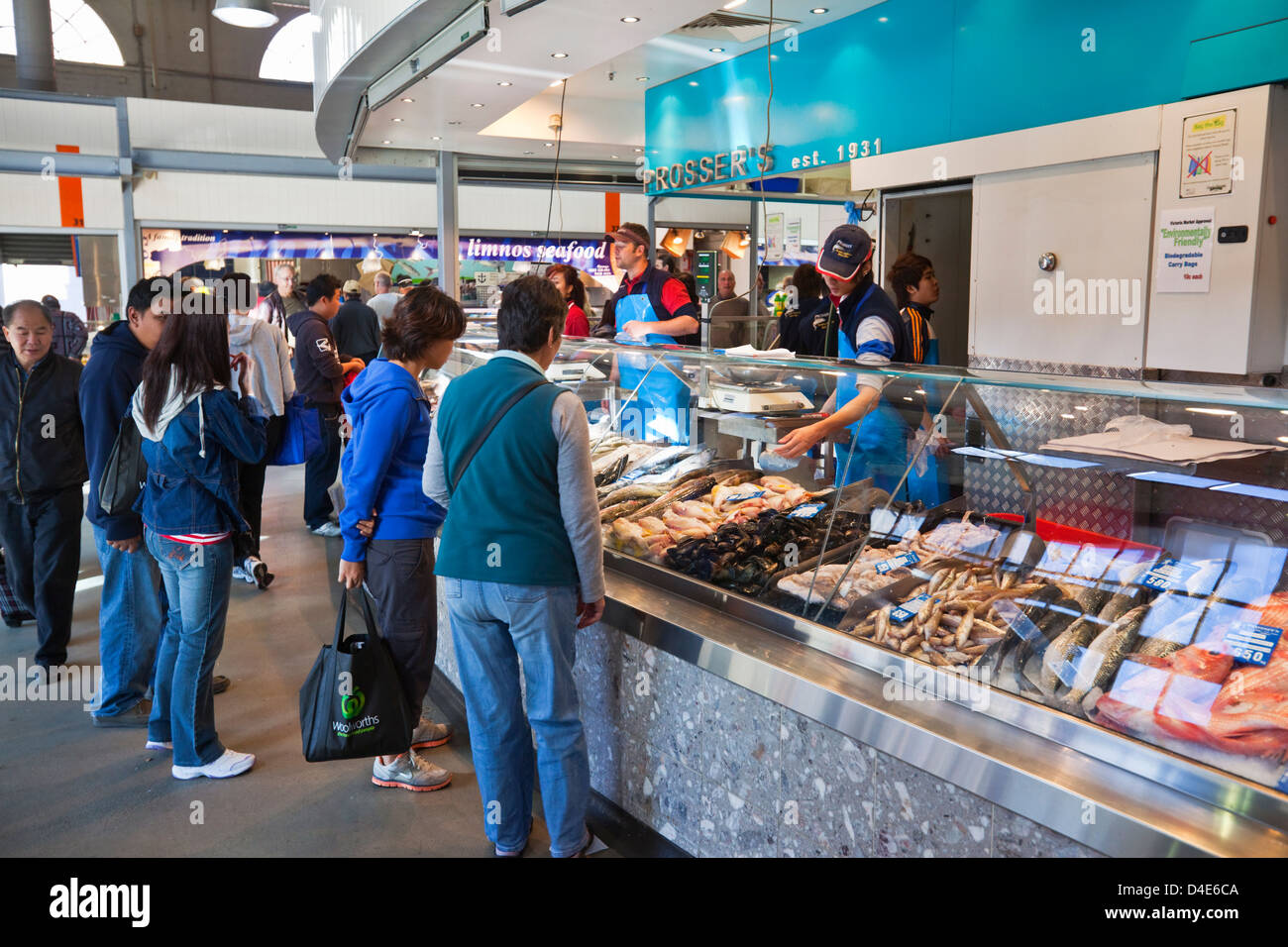 Restaurant For Sale In Melbourne Victoria Market Melbourne Food Stock Photos And Victoria