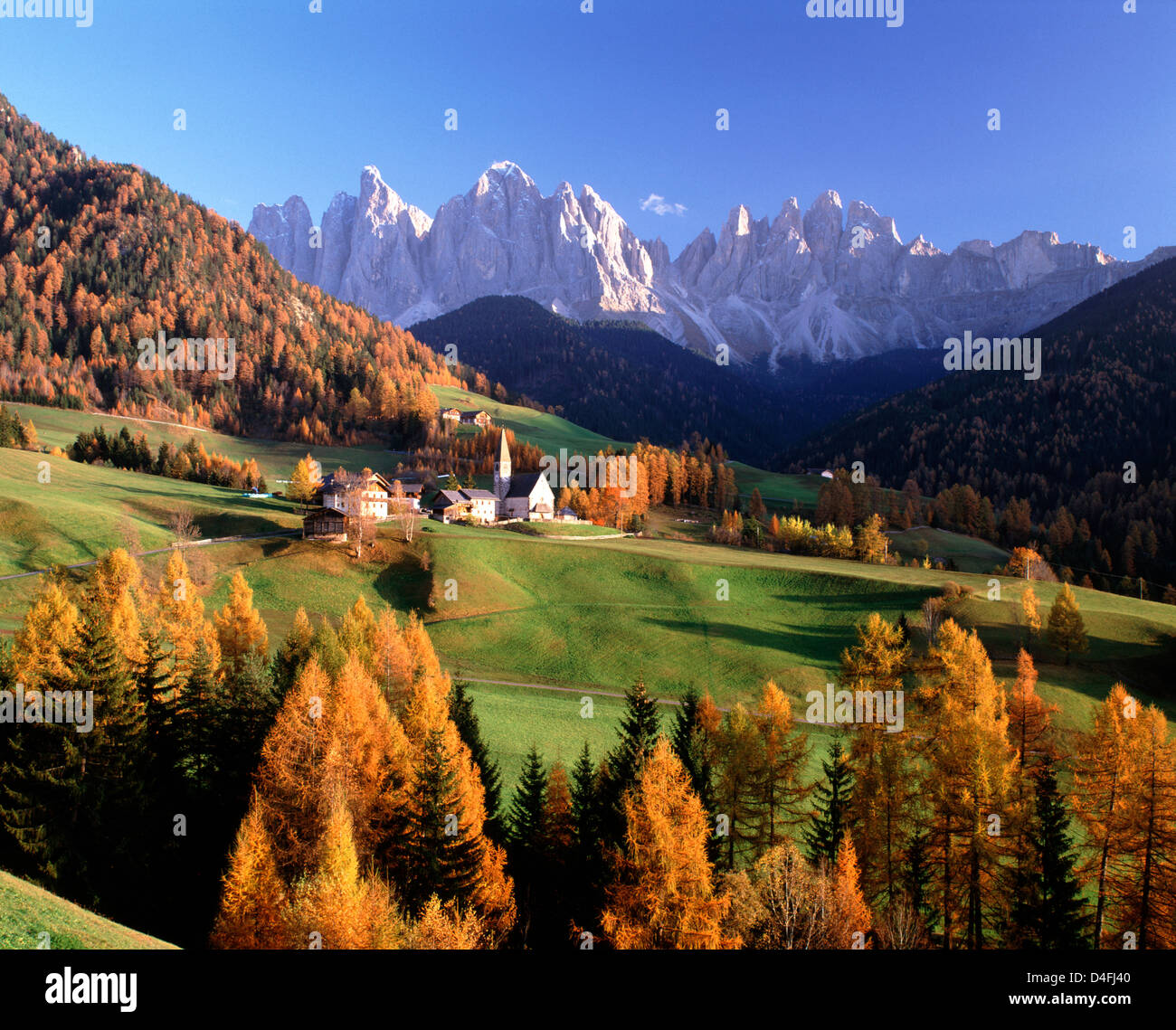 Free Fall Hp Widescreen Wallpapers St Magdalena Val Di Funes Alto Adige Trentino Italy
