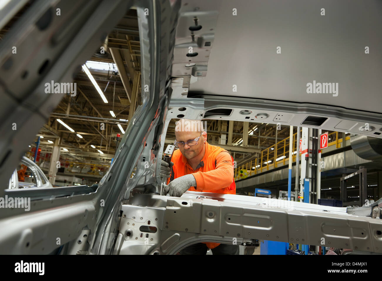 Jobs In Saarlouis Ford Assembly Plant Stock Photos Ford Assembly Plant Stock