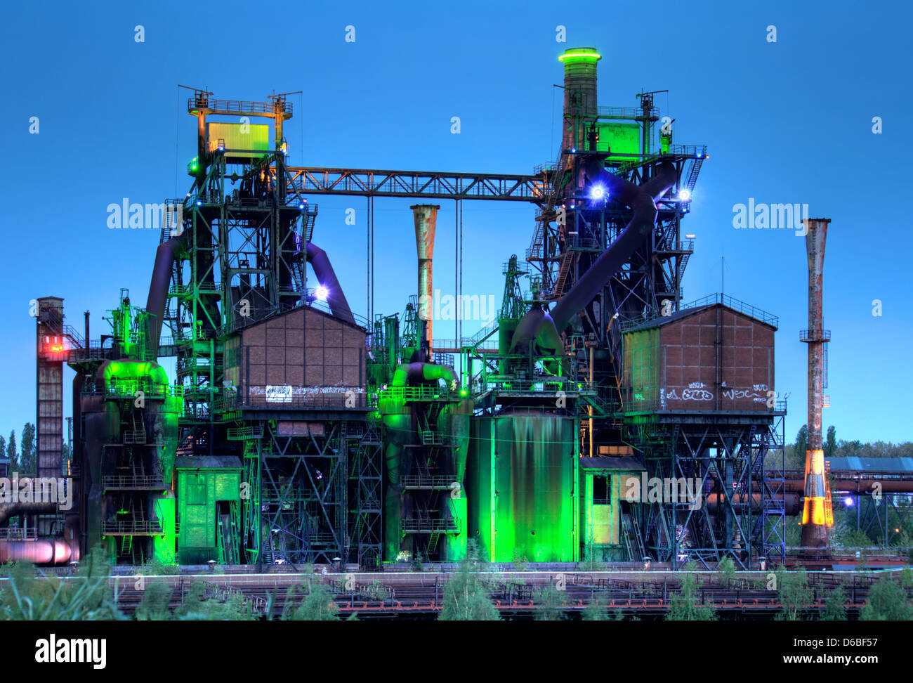 Glasregal Duisburg Nords Stock Photos Nords Stock Images Alamy