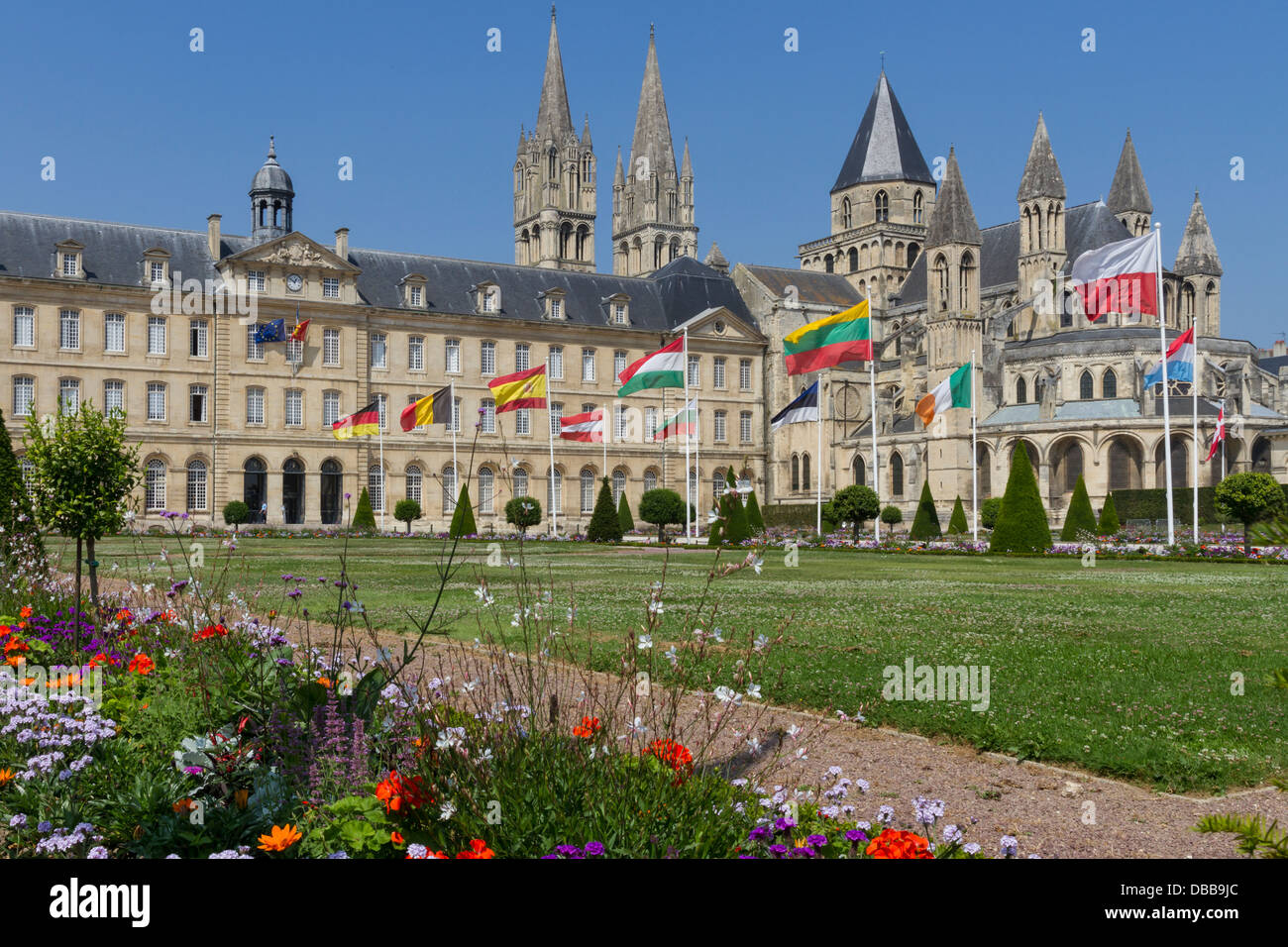 Hotel Saint Etienne Caen Caen Normandy Town Stock Photos And Caen Normandy Town Stock