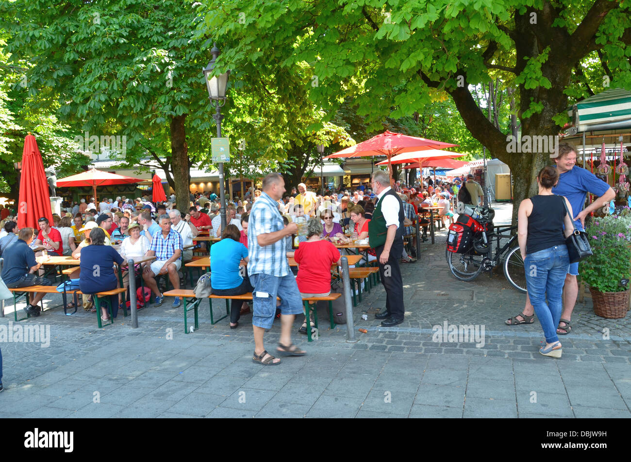 China Restaurant Kempten Beergarden Stock Photos And Beergarden Stock Images Alamy
