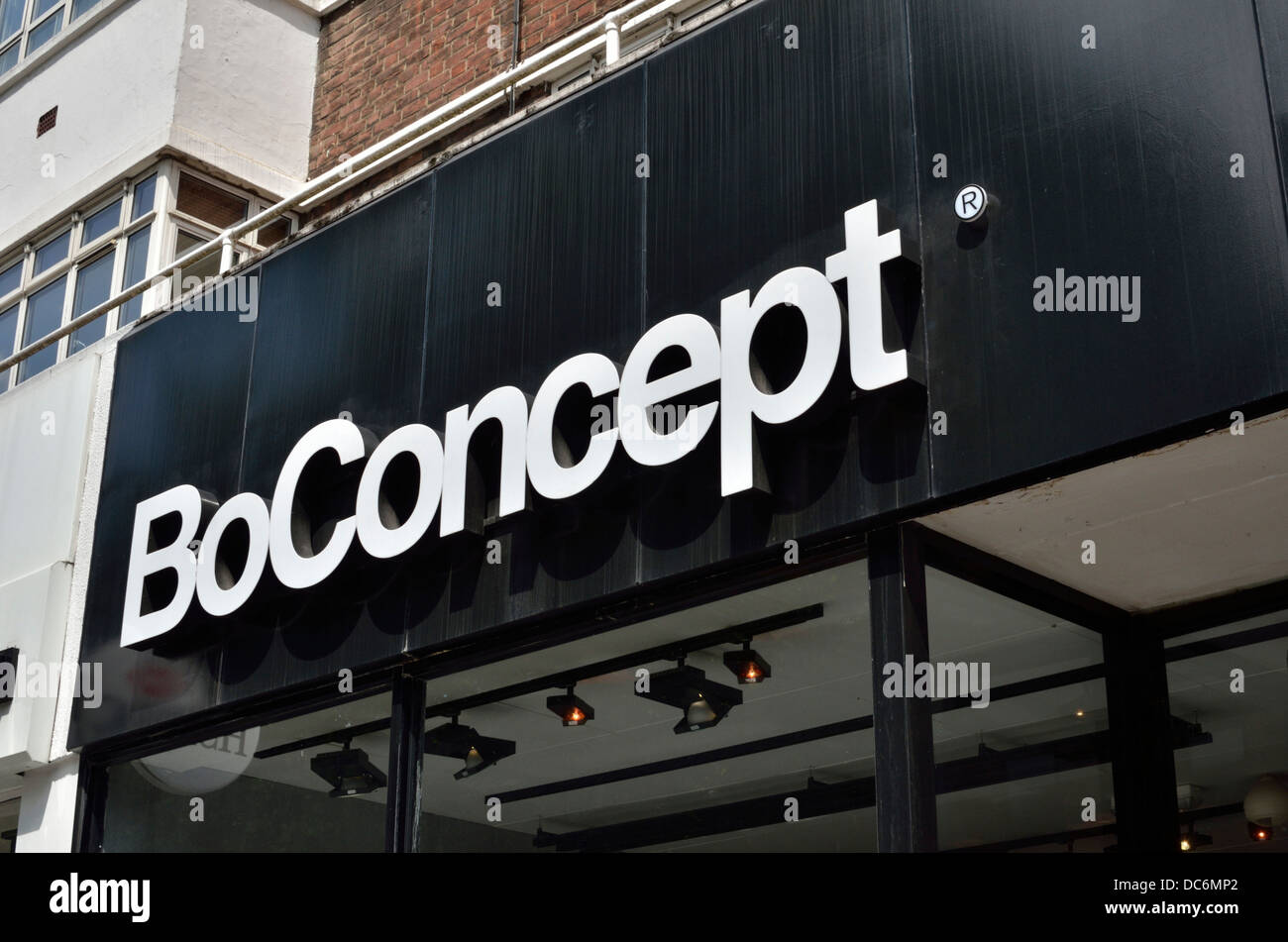 Logo Boconcept Boconcept Furniture Retailer Sign Logo Outside A Shop In Tottenham