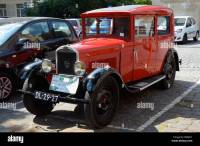 Vintage red Peugeot 201 Stock Photo: 59759953 - Alamy