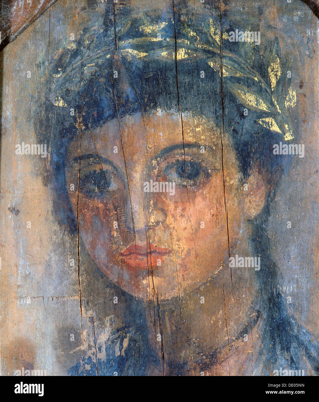 Pittura Romana Fayum Fayum Portrait Of Young Woman Ancient Egyptian Roman Period
