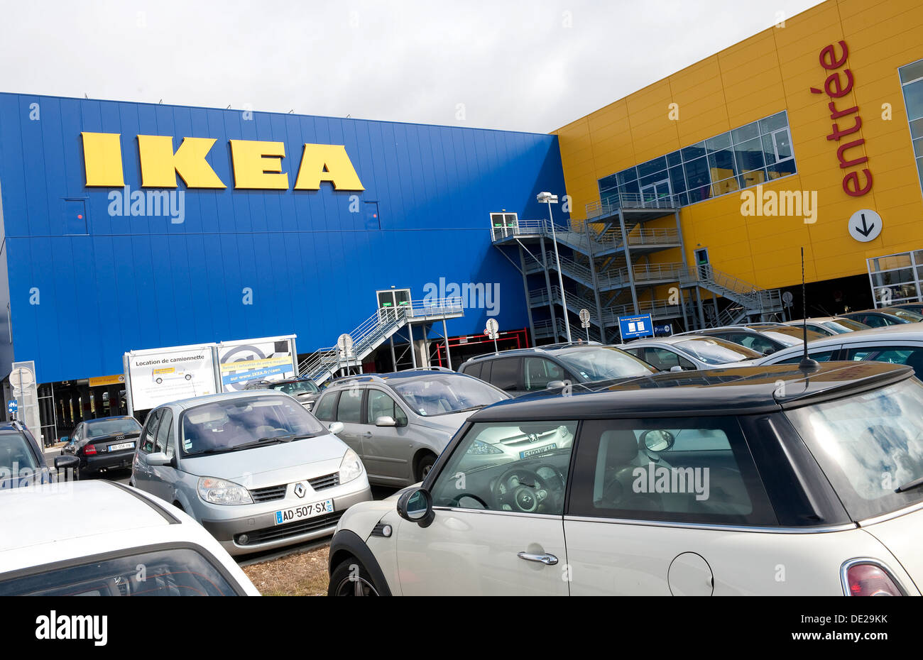 Store Caen Ikea Store Stock Photos And Ikea Store Stock Images Alamy