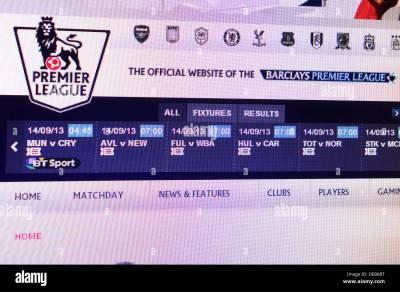 Premier League Stock Photos & Premier League Stock Images - Alamy