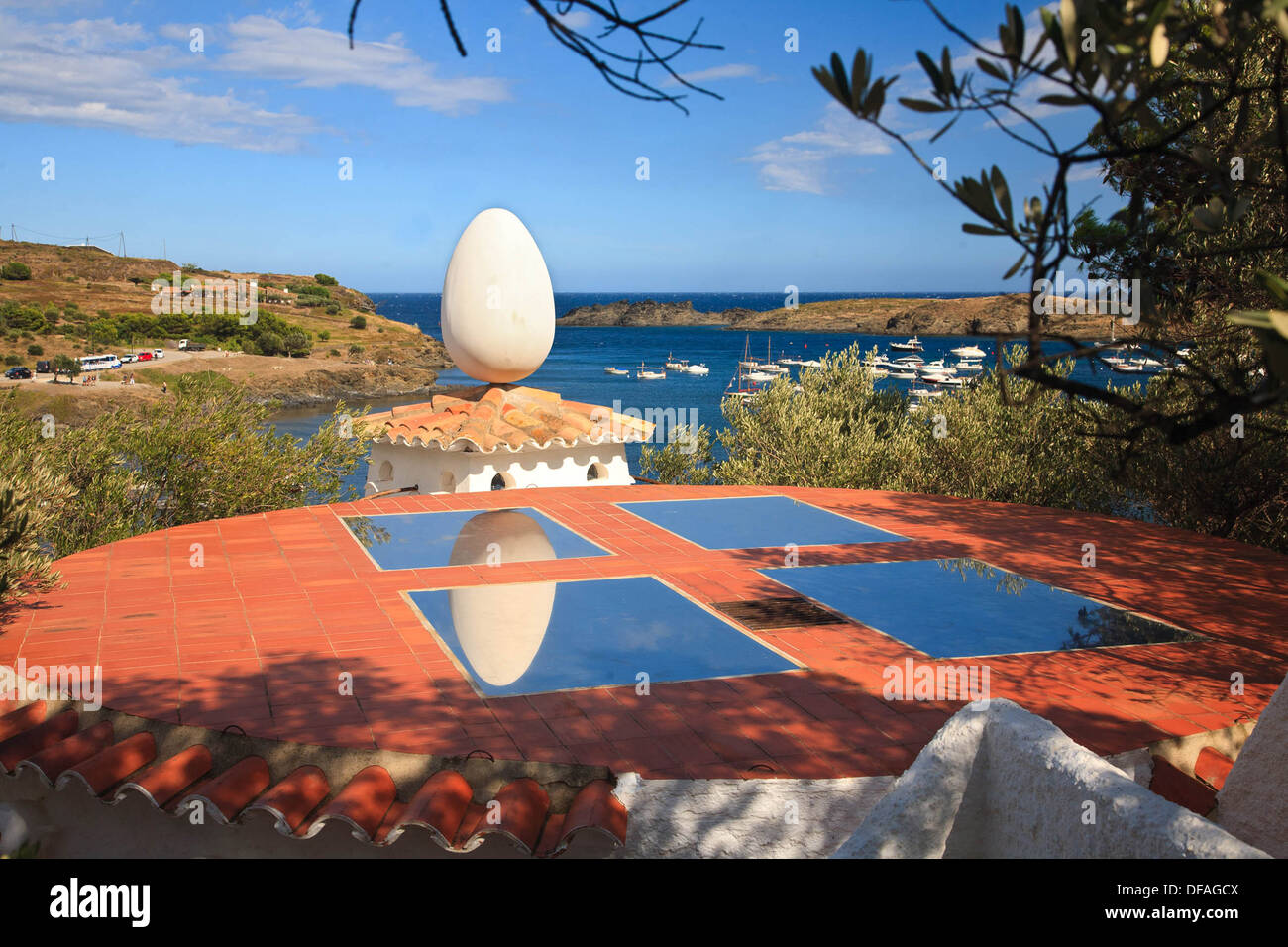 Cadaques Dali An Egg On The Roof Of Salvador Dali 39s House In Port Lligat
