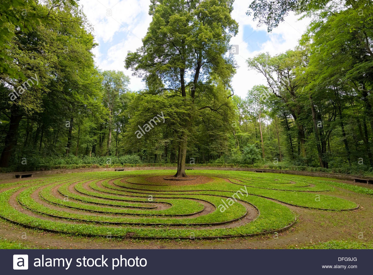 Parks In Hannover Quotthe Wheel Quot Historic Turf Maze In Eilenriede Park List