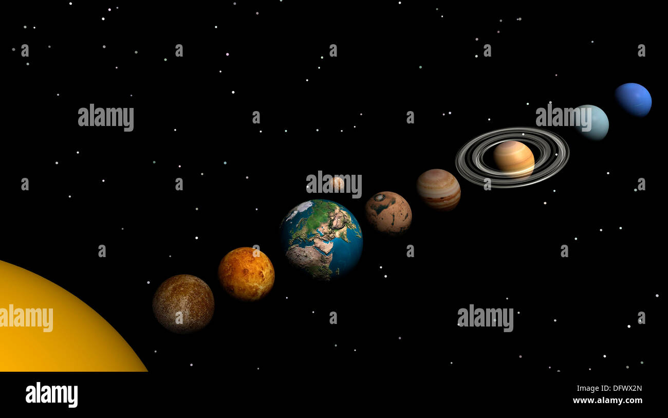 Venus Mars A All Planets Of The Solar System Mercury Venus Earth