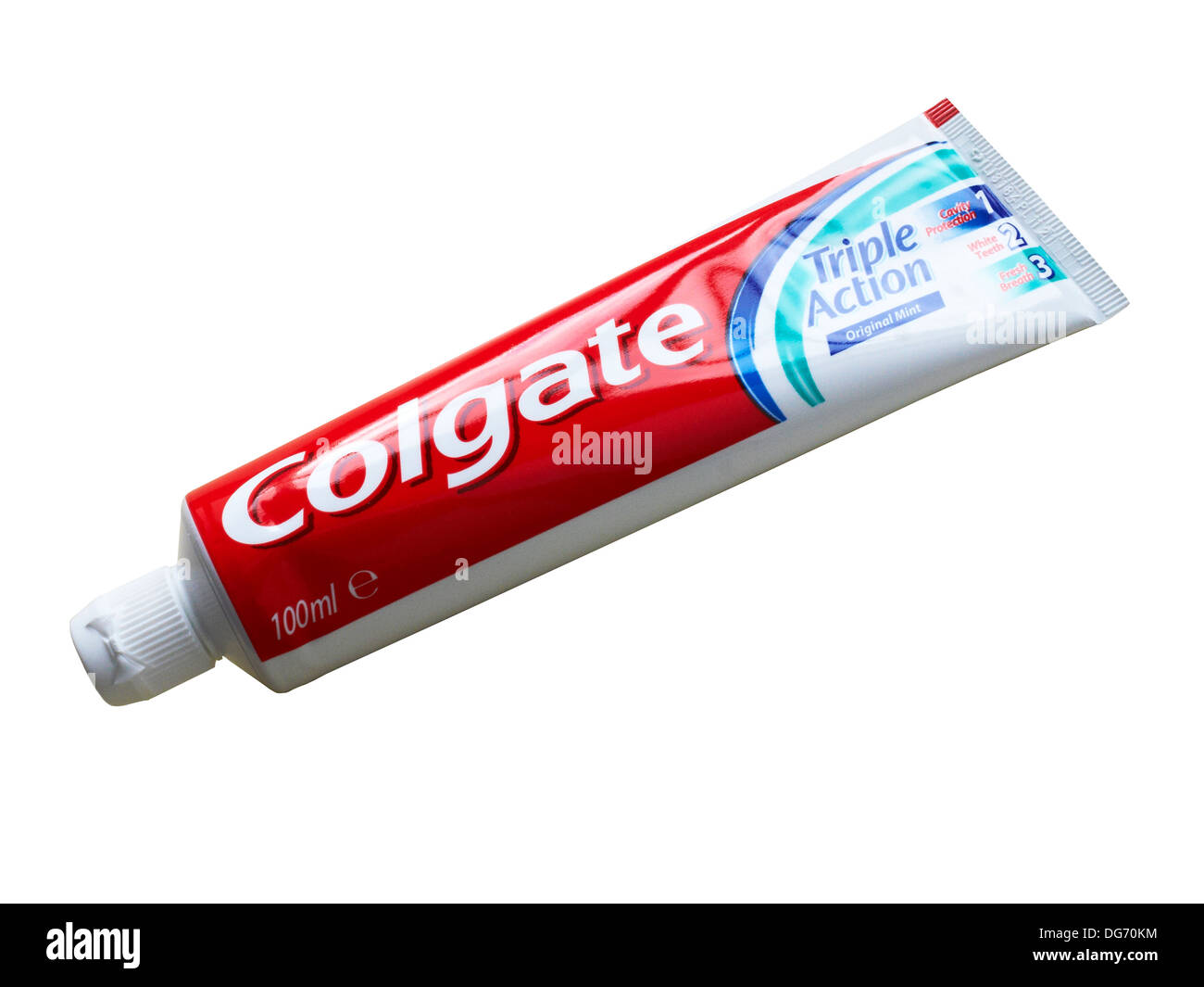 Hd Tube Tube Of Colgate Toothpaste Isolated On White Background