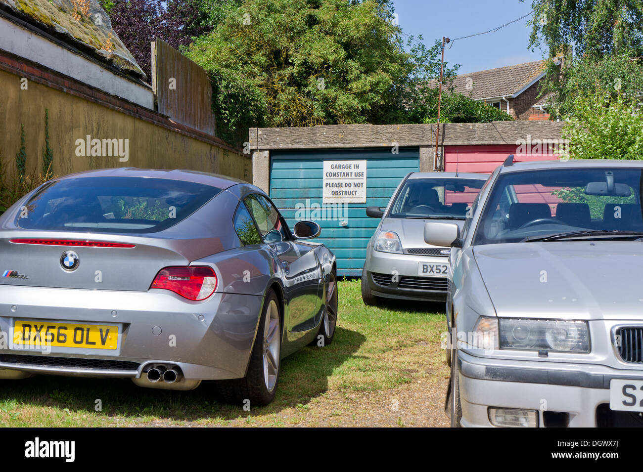 Garage Bmw Angers In Constant Use Stock Photos In Constant Use Stock Images Alamy