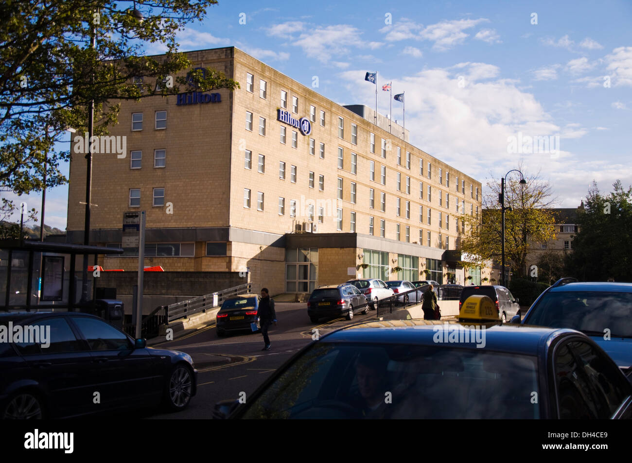 Bed And Breakfast Bath Uk Hilton Hotel Bath Somerset England Uk Stock Photo 62177873 Alamy