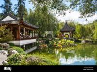 Beautiful Chinese Garden at the Huntington Library Stock ...