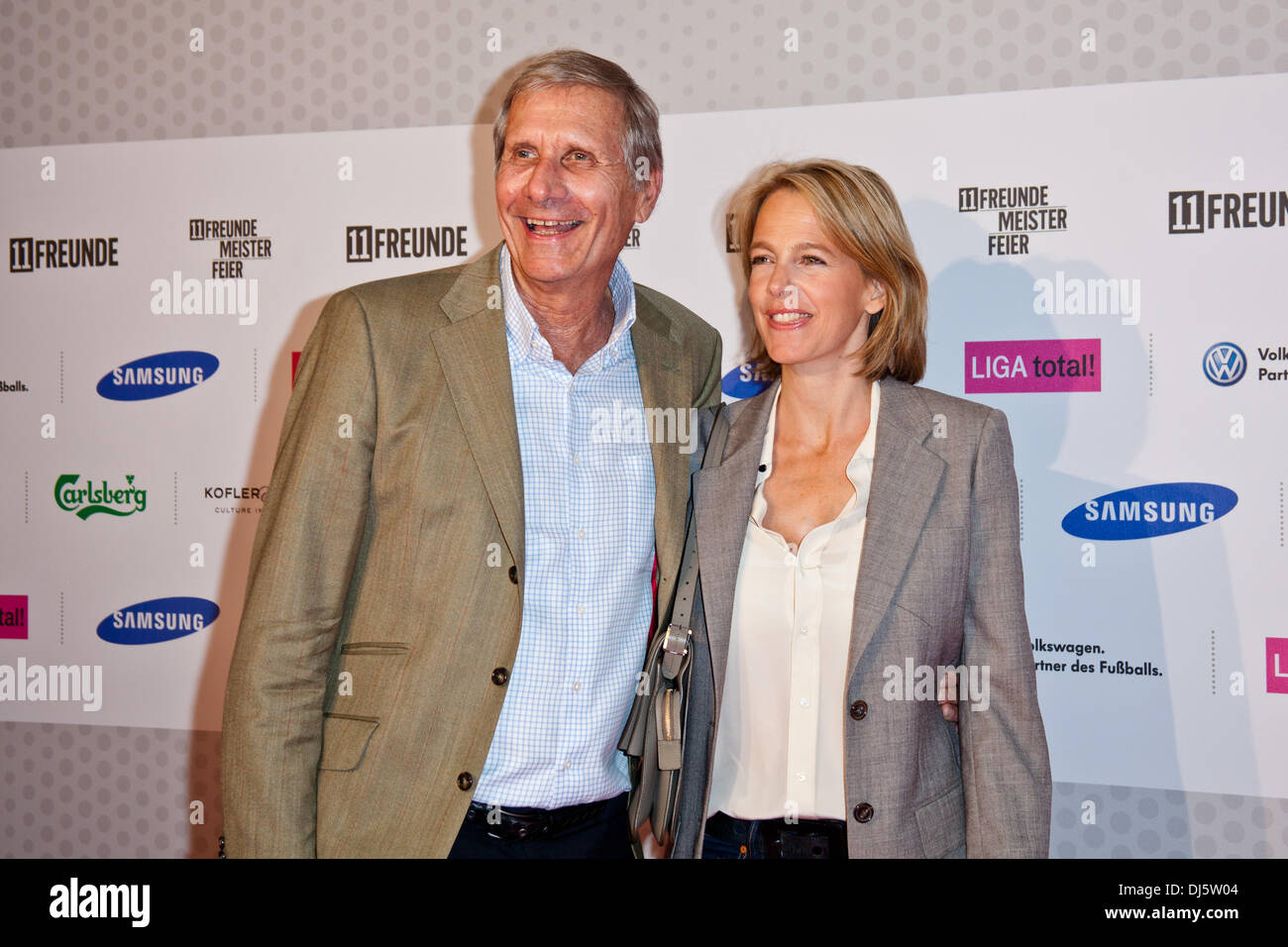 Uli Wickert Ulrich Wickert And Julia Jaekel At The Quotdie 11 Quot Awards By