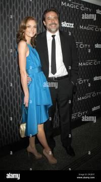 Jeffrey Dean Morgan And Hilarie Burton Stock Photos ...