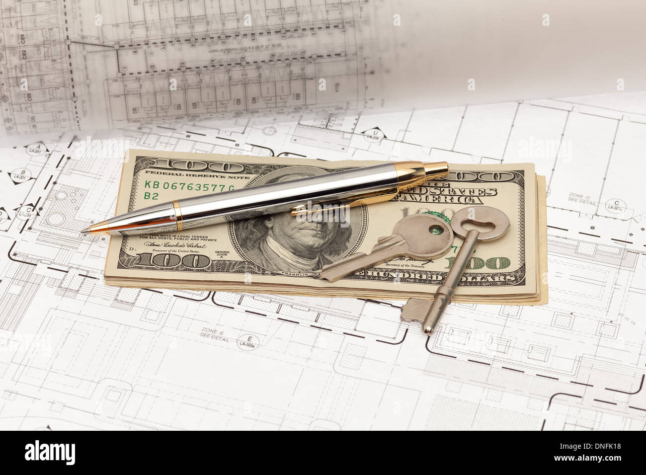 Engineering and construction project with money