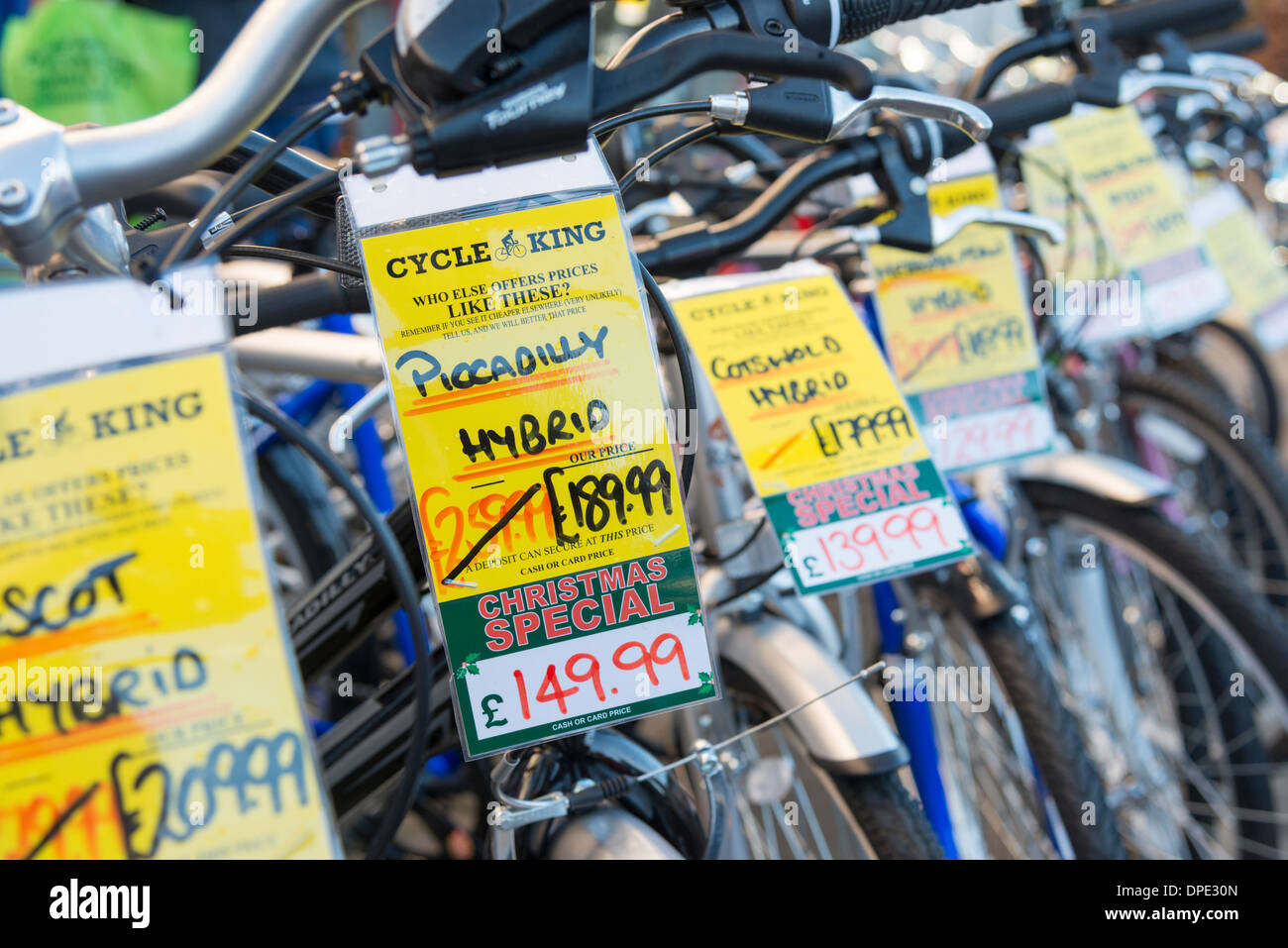 Bike Shop Sale Bikes For Sale Stock Photos Bikes For Sale Stock Images Alamy