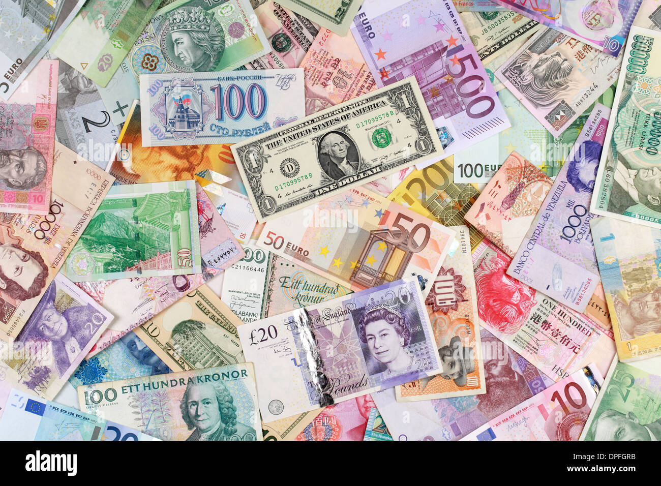 Cash Pool Oecd Currency From All Over The World Such As Euro Dollar