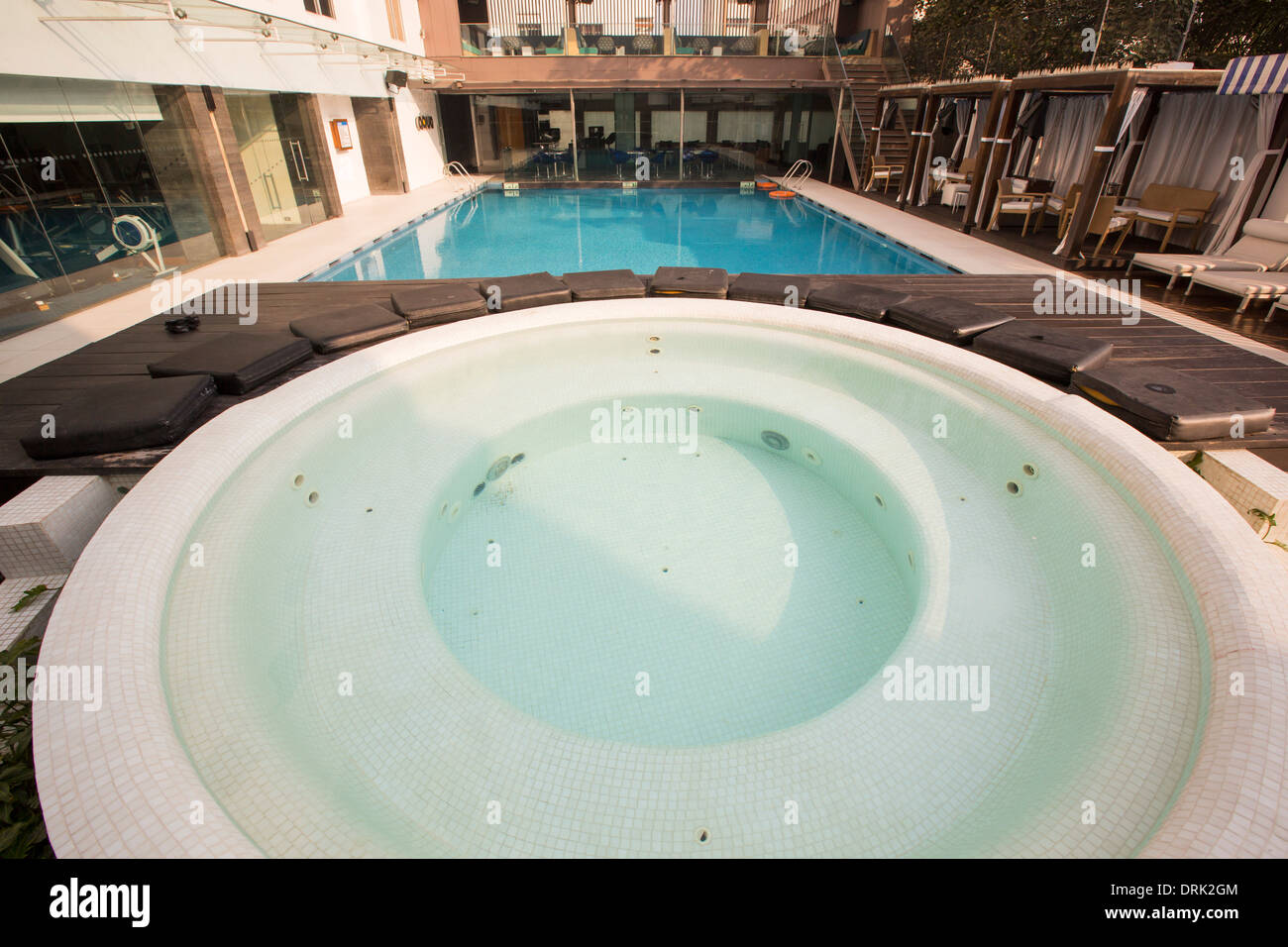 Jacuzzi Pool India Swimming Tiger Pool Stock Photos Swimming Tiger Pool Stock