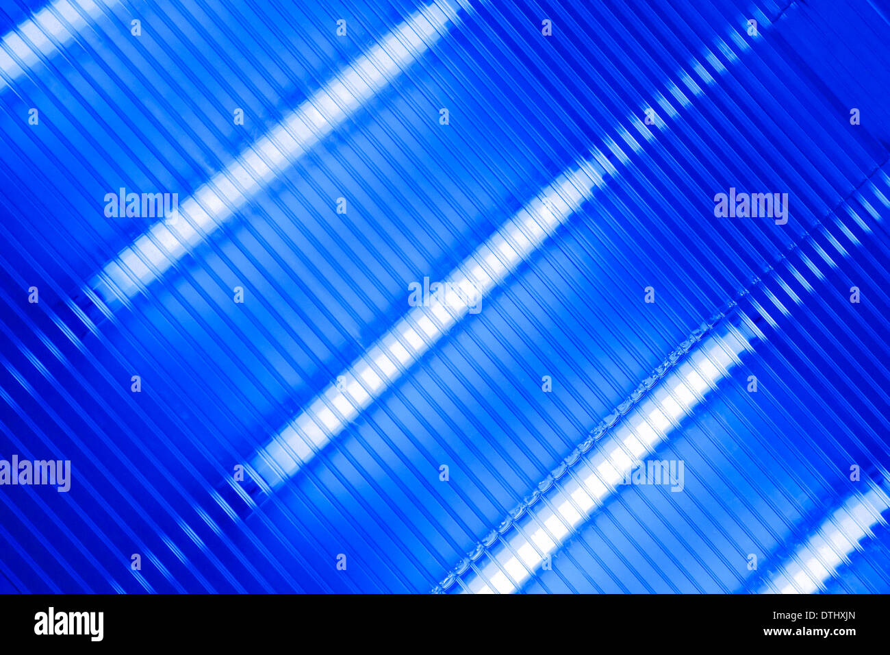 Ultraviolet Lamp Transparent Ultraviolet Lamp Panel For Water Cleaning Stock Photo