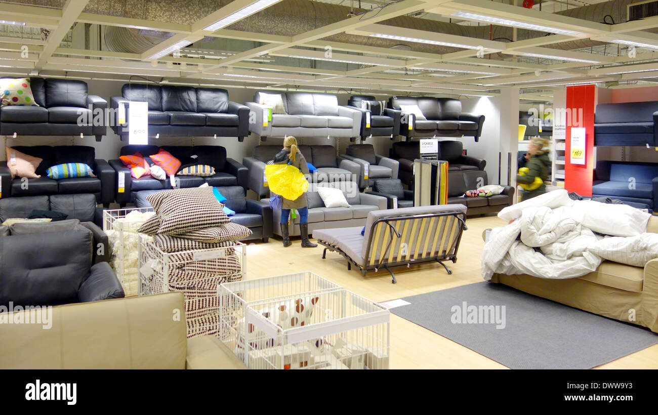 Furniture Toronto Com Furniture Selection At An Ikea Store In Toronto Canada Stock