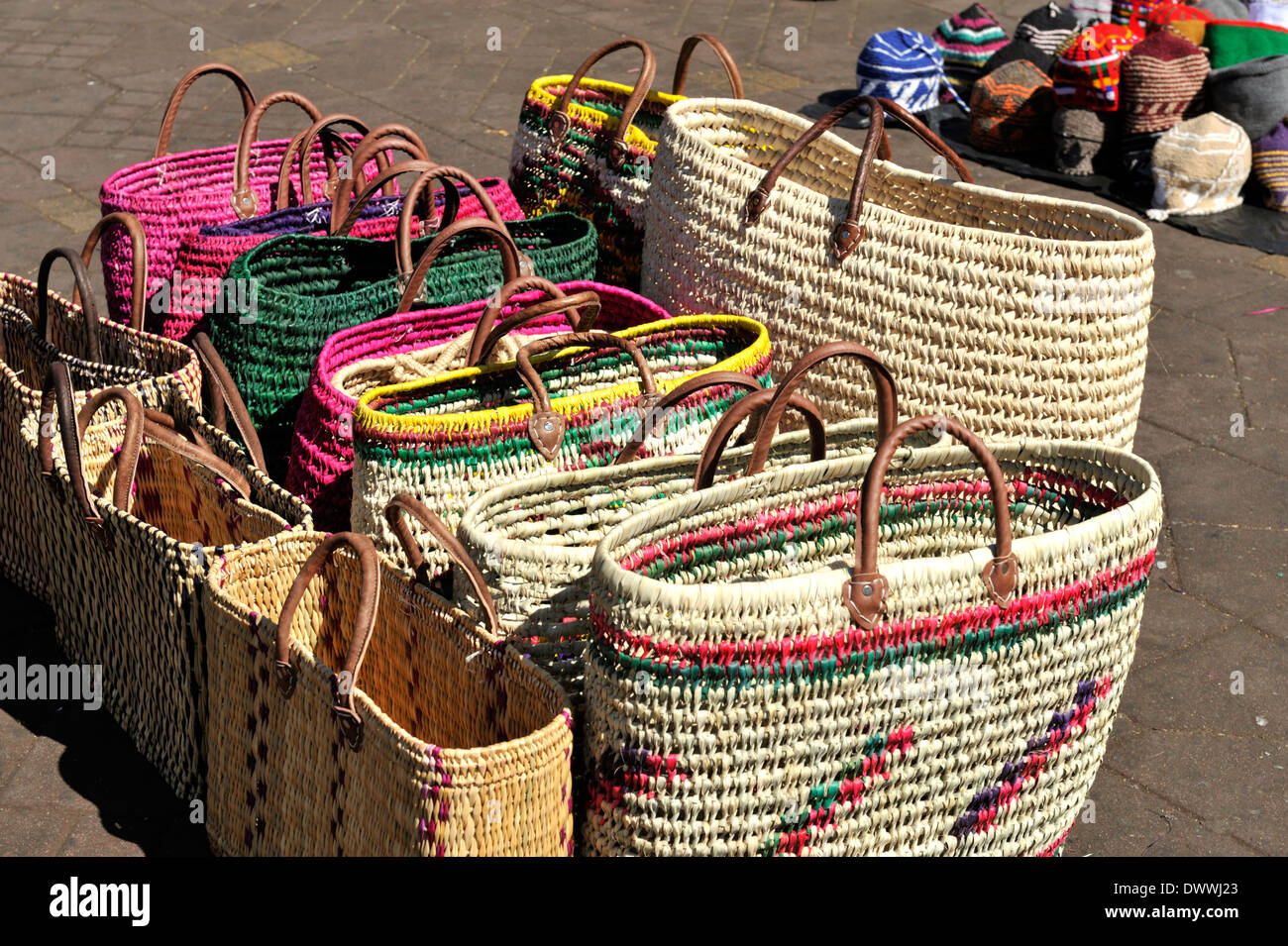 African Woven Hamper Woven Basket Africa Stock Photos And Woven Basket Africa