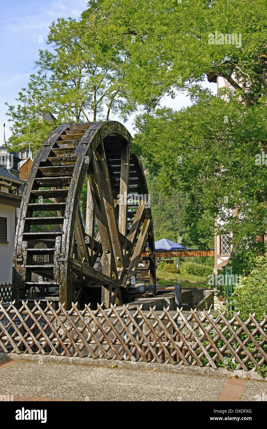 Bad Stein Water Wheel Bad Munster Am Stein Stock Photo 67910040 Alamy