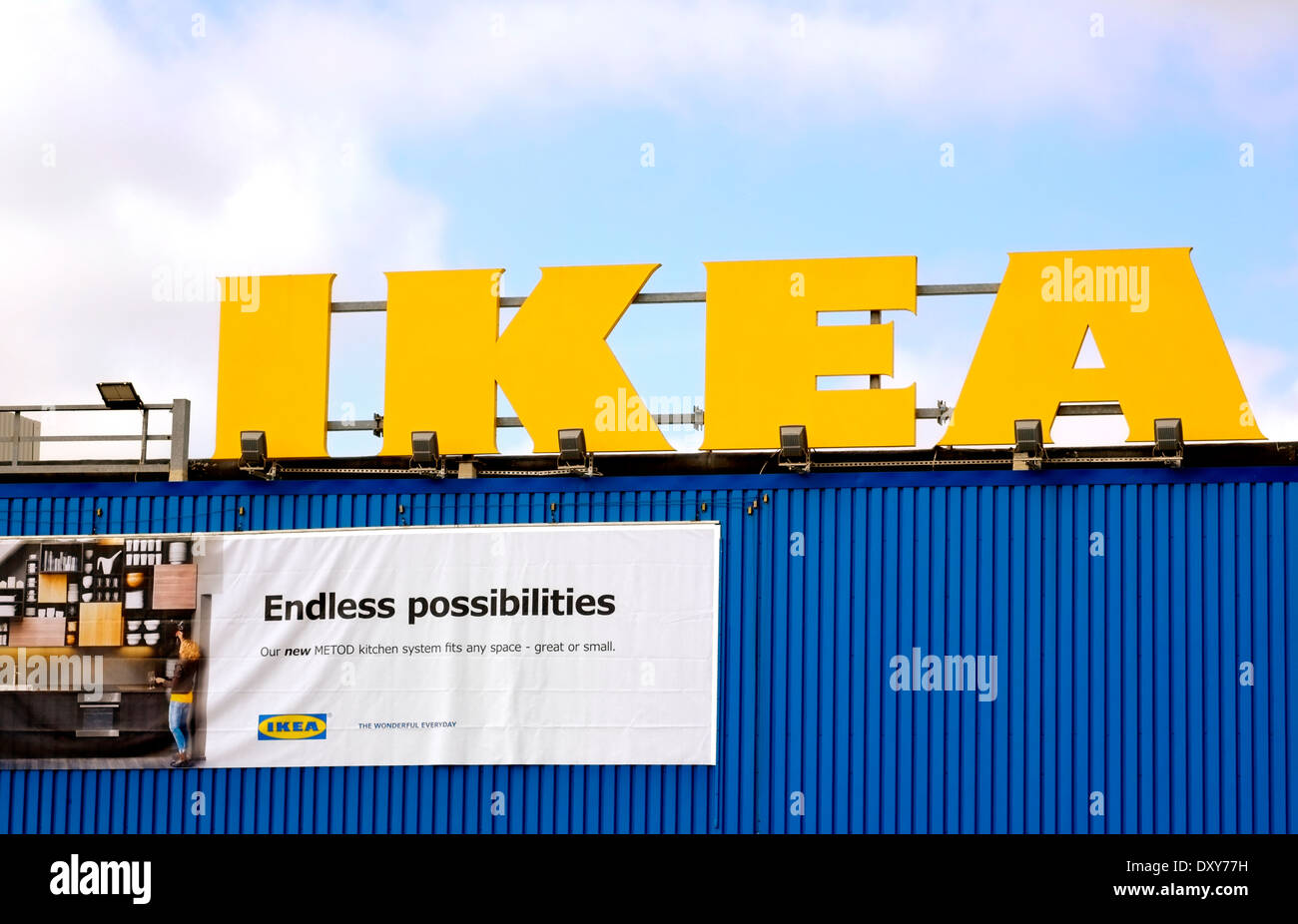Yellow Shop Ikea Logo Stock Photos And Ikea Logo Stock Images Alamy