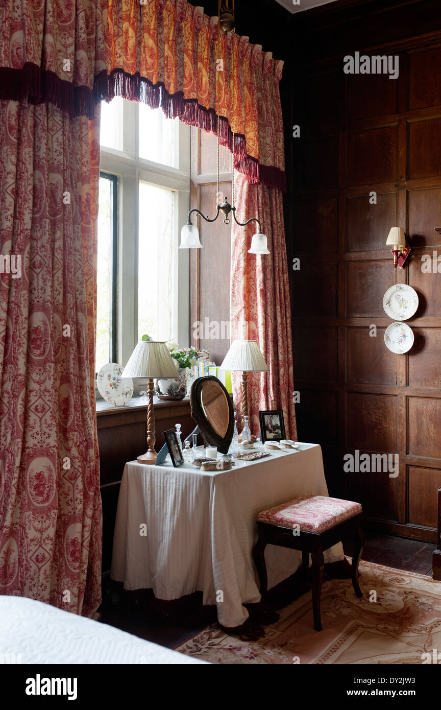 Photos De Dressing Toile De Jouy Curtains By Design Archive And Dressing Table In