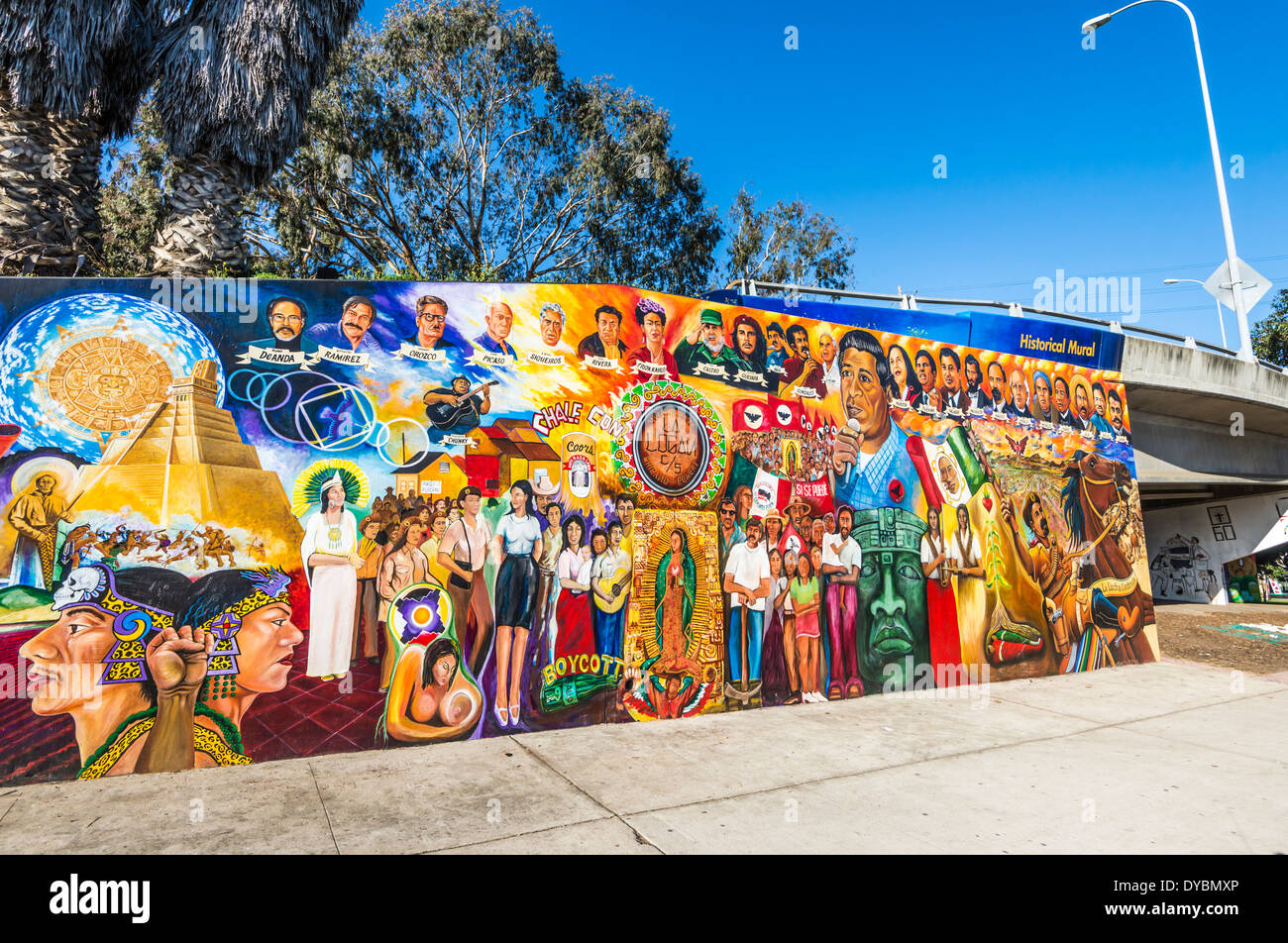 Arte Chicano Murals Chicano Mural Stock Photos Chicano Mural Stock Images Alamy