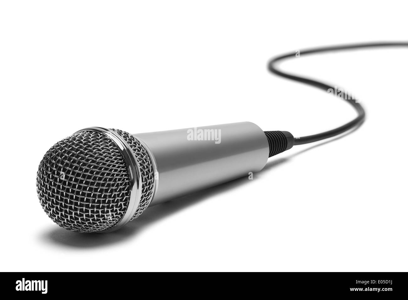 Singer Microphone Cut Out Stock Images Pictures Alamy