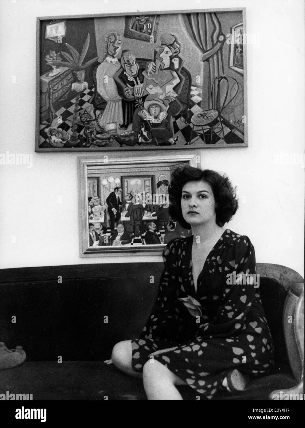Paloma Picasso Paloma Picasso Black And White Stock Photos Images Alamy