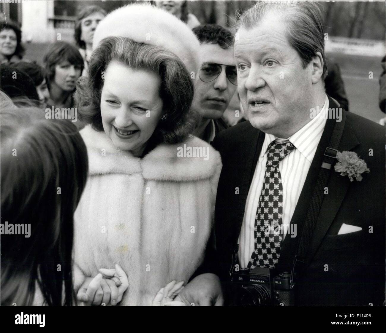 24 Agency Feb. 24, 1981 - Lady Diana's Father And Step Mother At The