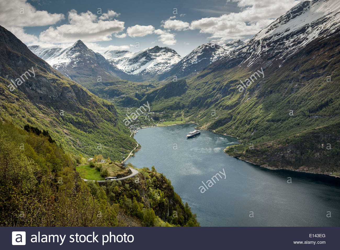 Fjord Rotterdam Holland America Norway Stock Photos And Holland America
