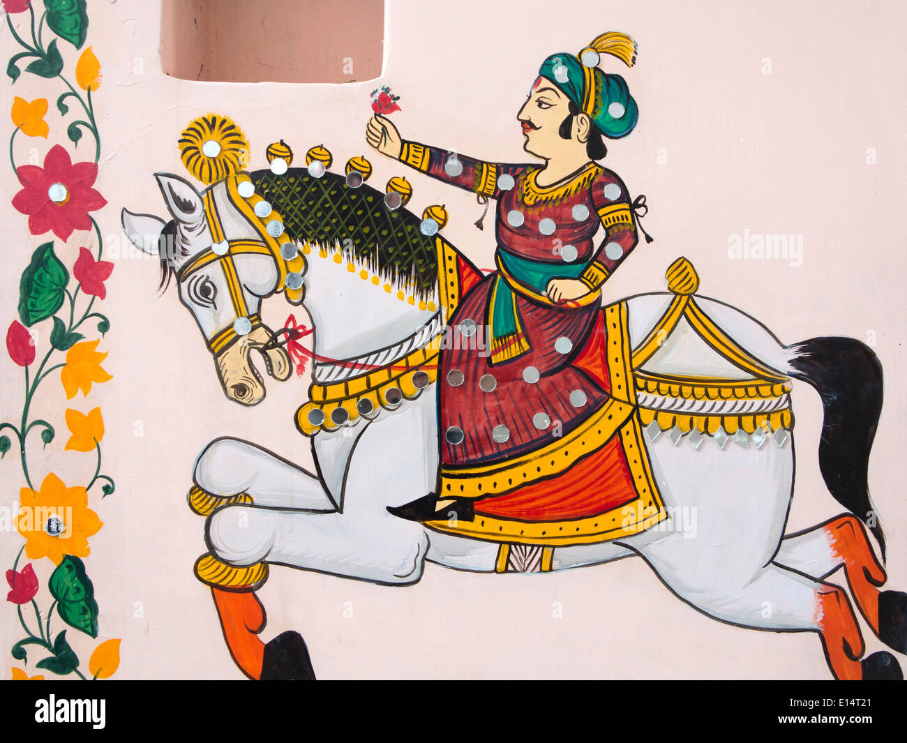 Rajput Wallpaper Hd Download India Rajasthan Udaipur Rajasthani Folk Art Wall