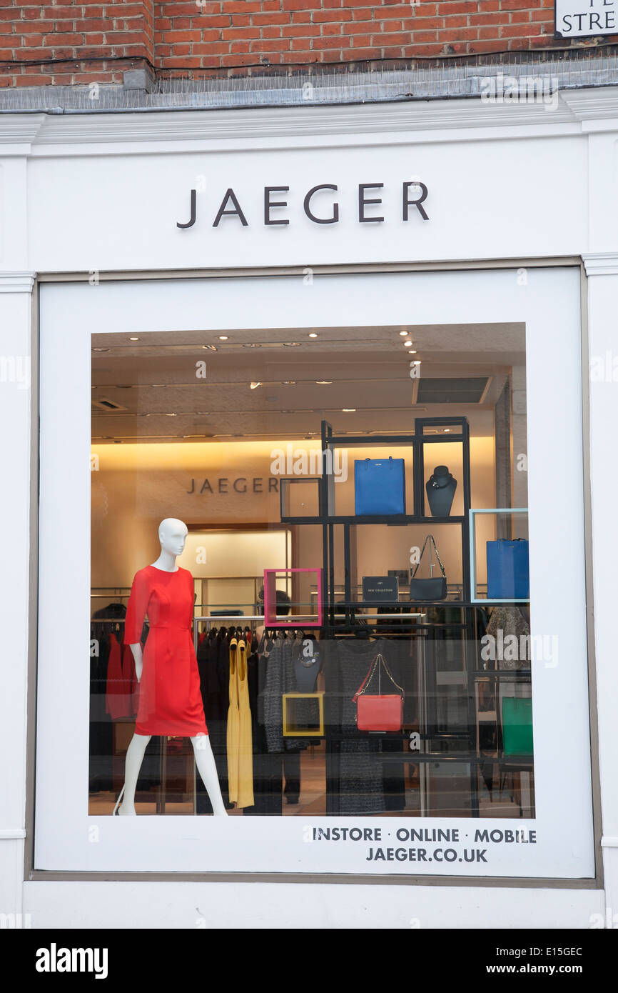 Möbel Jäger Online Shop Jaeger Shop Kings Road Chelsea London England Uk Stock