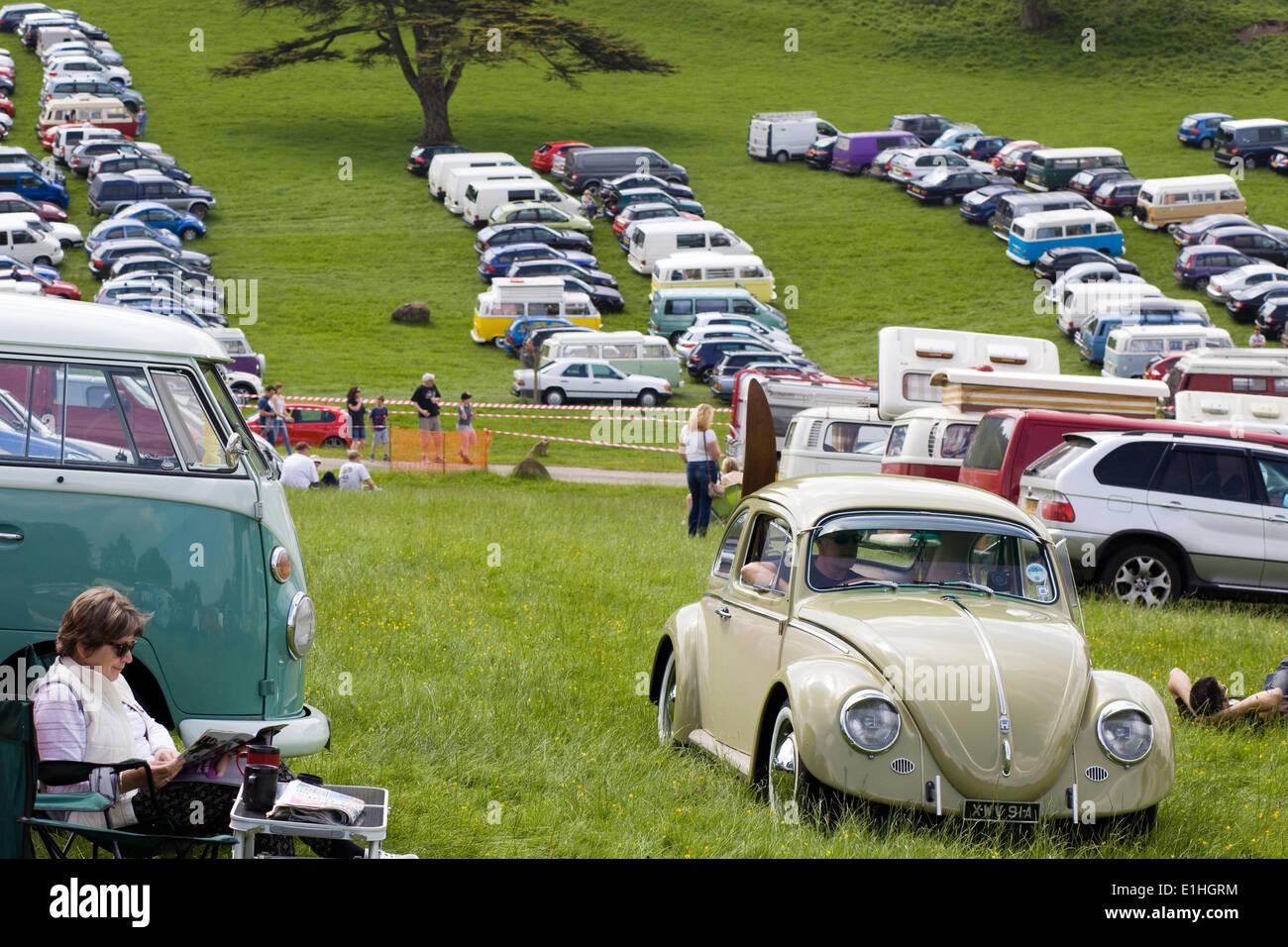 Volkswagen Beetle Modified Car Stock Photos Volkswagen