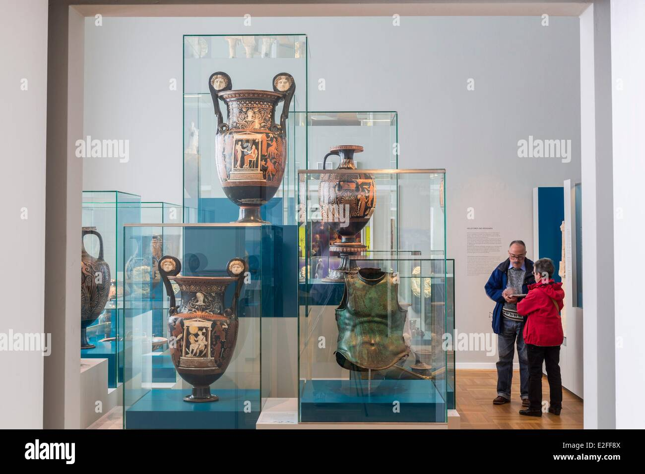 Museum Für Kunst Und Gewerbe Germany, Hamburg, Museum Fur Kunst Und Gewerbe (mkg), Museum Of Arts And Crafts, Section Of Greek Stock Photo - Alamy