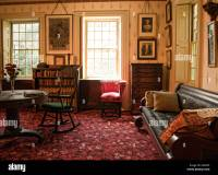 old fashioned living room Stock Photo, Royalty Free Image