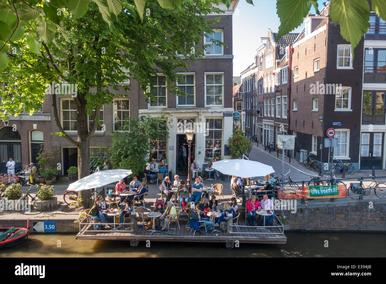 T Mobile Shop Amsterdam Amsterdam Amsterdam Cafe 39t Smalle On The Egelantiersgracht In The
